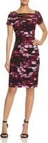 Adrianna Papell Printed Banded Dress