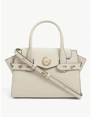 MICHAEL Michael Kors Carmen belted leather satchel