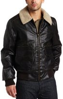 Levi's Men's Faux Leather Aviator Bomber