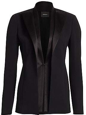 Akris Women's Delaney Double-Lapel Jacket