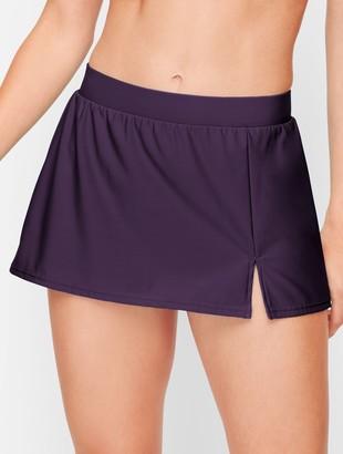 Talbots Miraclesuit Vented Swim Skirt