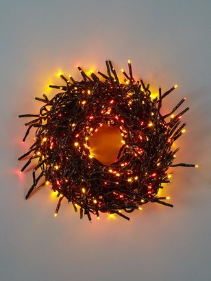 Festive 720 Multi Function,Multi Coloured Cluster Indoor/Outdoor Christmas Lights with Timer