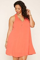 Forever 21 FOREVER 21+ Plus Size Strappy-Back Dress