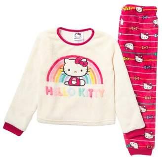 Hello Kitty Komar Pajama Fleece Set (Toddler Girls)
