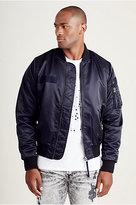 True Religion Mens Bomber Jacket