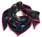 Echo Women's Butterfly Print Silk Square Scarf
