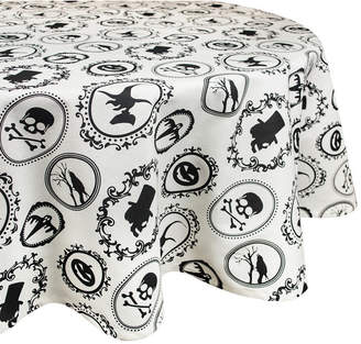 Design Imports Halloween Portrait Tablecloth