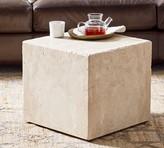 Pottery Barn Madison Travertine Cube