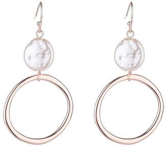 Gregory Ladner Drop Freshwater Pearl Earrings