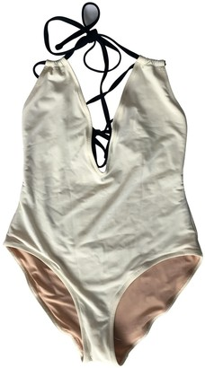 Solid & Striped Ecru Swimwear for Women