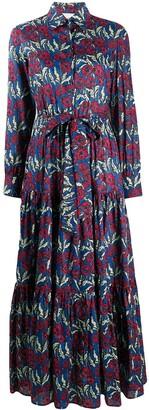 La DoubleJ Bellini floral print shirt dress