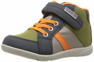 Tsukihoshi Boys' Grid Sneaker