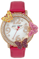 Betsey Johnson Fly Away Butterfly Watch