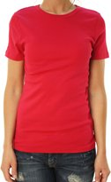 J.Crew J. Crew Women's Short Sleeve Crew Neck Basic T-Shirt Raspberry Red