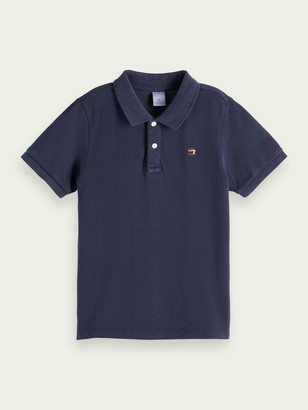 Scotch & Soda Garment-dyed cotton polo | Boys