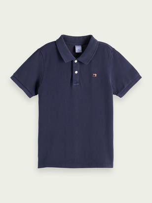 Scotch & Soda Short-sleeved cotton polo | Boys