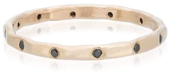Melissa Joy Manning black diamond wedding ring