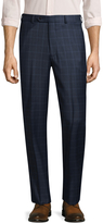 Brooks Brothers Men's Wool Plaid Trousers