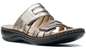 Clarks Leisa Zoe Slip-On Sandals Women's Shoes