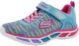 Skechers Girls' Litebeams Colorburst Light Up Sneaker 13 M US
