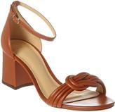 Alexandre Birman Vicky Knotted 60 Leather Sandal