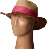 Echo Color Block Panama Beach Hat Caps