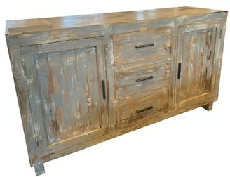 Millwood Pines Echevarria Hand Distressed Sideboard