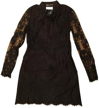 Saint Laurent Black Lace Dresses