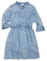Design History Girl's Chambray Shirtdress