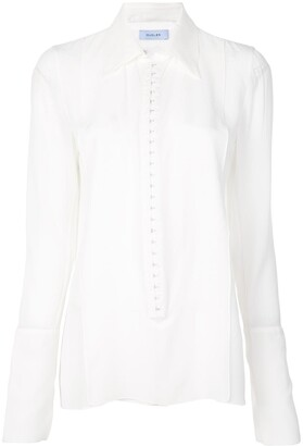 Thierry Mugler Exaggerated Cuff Shirt