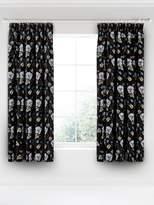 V&A Gardenia Pencil Pleat Curtains