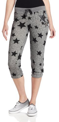 Southpole Juniors All Over Star Printed Sweatpant