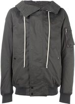 Rick Owens zip up hooded jacket - men - Cotton/Acrylic/Polyamide/Polyester - S