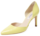 LK Bennett Flossie Leather D'Orsay Pump