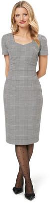Review Annika Check Dress