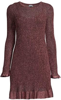 M Missoni Knit Lurex Mini Dress