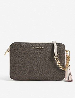 MICHAEL Michael Kors Ginny medium leather cross-body bag