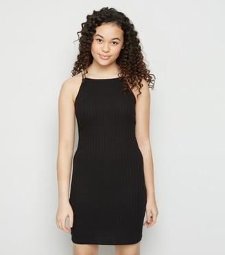 New Look Girls Ribbed Mini Dress