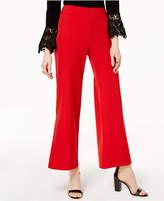 INC International Concepts I.N.C. Wide-Leg Side-Slit Pants, Created for Macy's