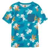 Tea Collection Fish Graphic Pocket T-Shirt