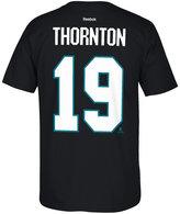 Reebok Men's Joe Thornton San Jose Sharks Player T-Shirt