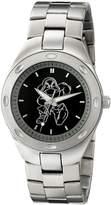 Disney Men's W001904 Grumpy Analog Display Quartz Silver Watch