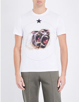 Givenchy Twin Monkey cotton-jersey T-shirt