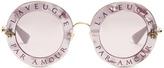 Gucci L'Aveugle Par Amour metal sunglasses