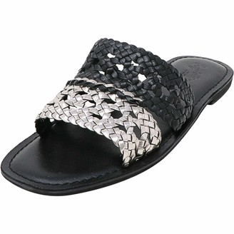 Seychelles Women's Everlasting Slide Sandal Black/Pewter 9.5 M US