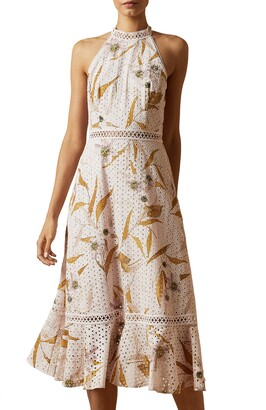 Ted Baker Floxyy Cabona Eyelet Dress