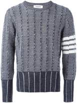 Thom Browne patterned jumper