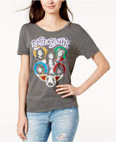 Junk Food Clothing Cotton Aerosmith Graphic T-Shirt