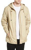 Zanerobe Men's Shade Longline Hooded Jacket