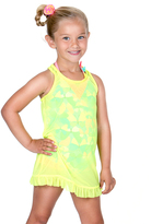 Hula Star Lime Mermaid Mesh Cover-Up - Toddler & Girls